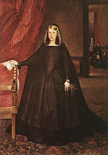 418px-Margaret_of_Austria_mourning_1666