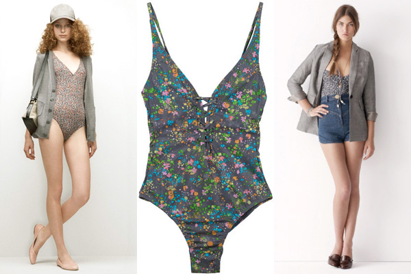 Spring-shopping-floral-swimsuit