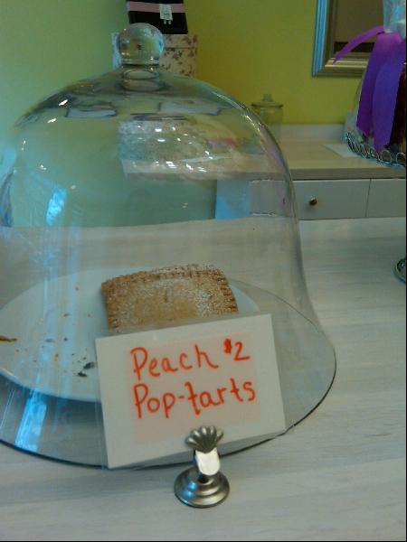 PEACH POP-TARTS